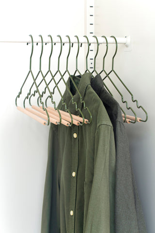 Adult Top Hangers in Olive