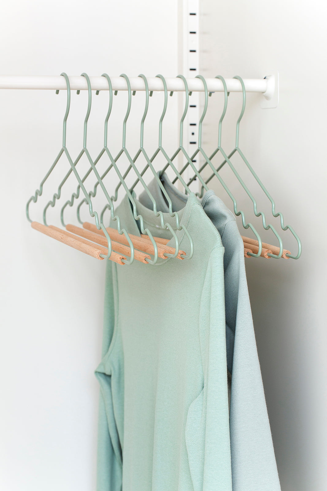 Adult Top Hangers in Sage