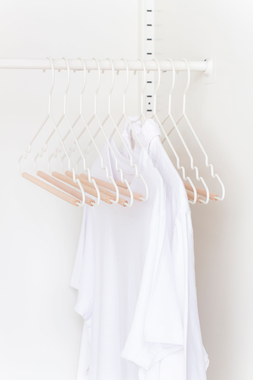 Adult Top Hangers in White