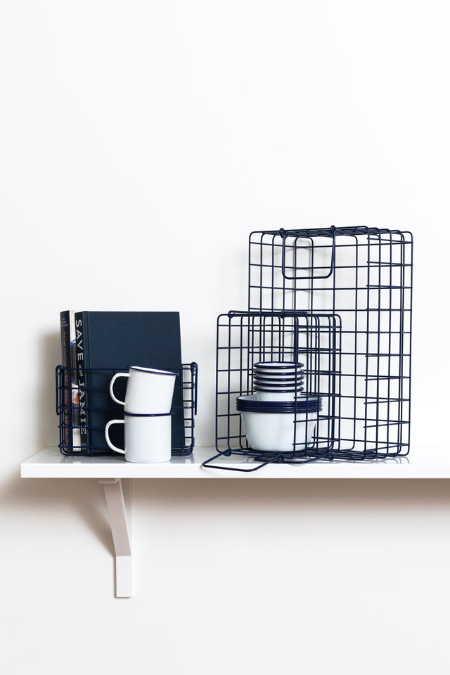 The Baskets in Navy