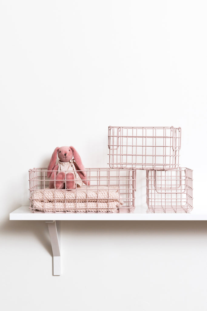 The Baskets in Blush