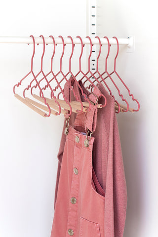 Kids Top Hangers in Berry