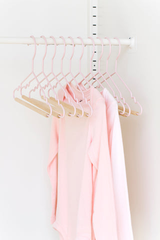 Kids Top Hangers in Blush