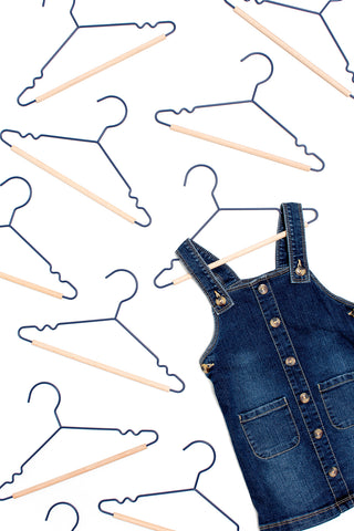 Kids Top Hangers in Navy