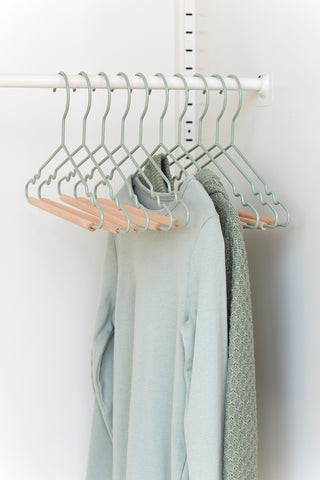 Kids Top Hangers in Sage