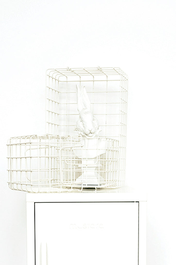 The Baskets in White
