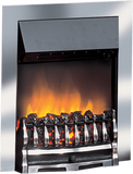 Dimplex Optiflame Wynford Chrome Inset Fire