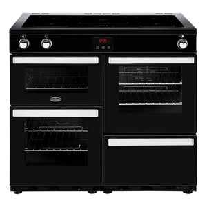 Belling Cookcentre 100cm Induction Range Cooker - Black | 100EIBLK