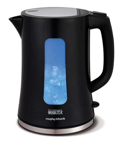 Morphy Richards Brita Electric Electric Filter Kettle - Black