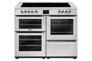 Belling Cookcentre 110cm Electric Range Cooker - Stainless Steel | 110EPROFSTA