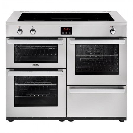 Belling Cookcentre 110cm Induction Range Cooker - Stainless Steel | 110EIPROFSTA