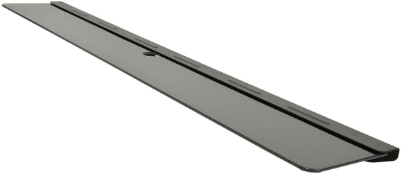 Soundbar tempered glass shelf