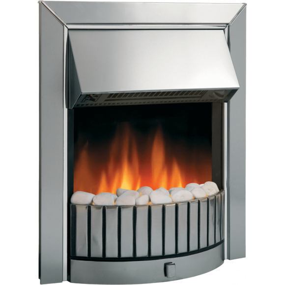 Dimplex Optiflame Delius Chrome Inset Fire Model Number : DLS20