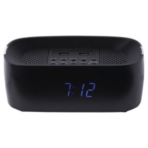 Groove Bluetooth Radio Alarm Clock with 2 x USB