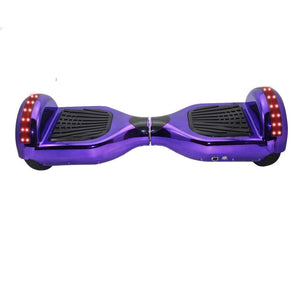 "Purple 6.5"" Chrome Hoverboard"