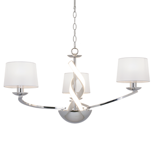 Scarlett 3-light LED Ribbon Fitting with Shades