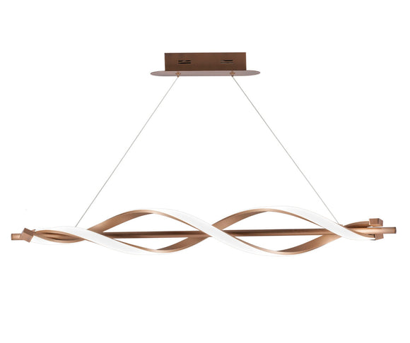 Stefany LED Copper Bar Light