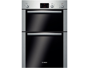 Bosch (HBM13B251B ) Serie 6 Built-in Double Hot Air Oven - Brushed Steel