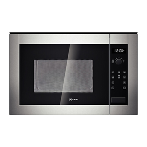 Neff (H12WE60N0G) 900W 25L Built-in Microwave Oven - Stainless Steel