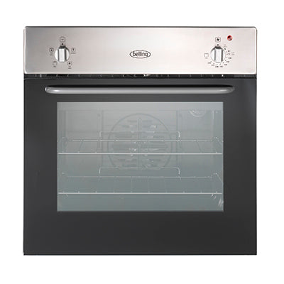 Belling (BI60FV) Electric Single Oven With Minute Minder - Stainless Steel