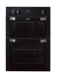 Belling (BI90FPBLK) Electric Built-In Double Oven