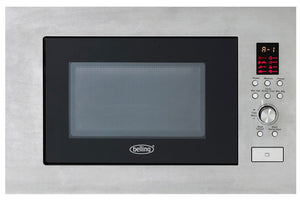 Belling (BIM60STA) 900w 23 Litre Built-in Microwave -Stainless Steel
