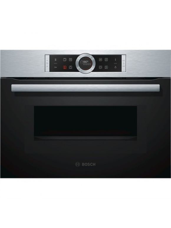 Bosch (CMG633BS1B) Compact Oven with Microwave - Brushed Steel