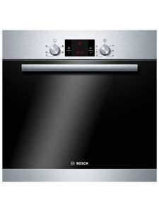 Bosch  (HBA13B150B) Serie 6 Built-in Single 3D Hot Air Oven - Brushed Steel