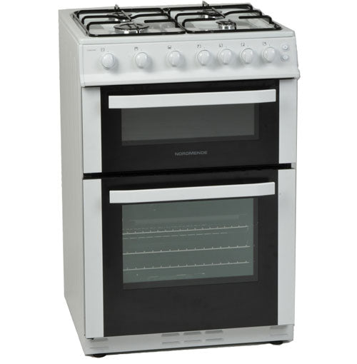 Nordmende (CTG60LPGWH) 60cm Freestanding LPG Bottled Gas Cooker - White