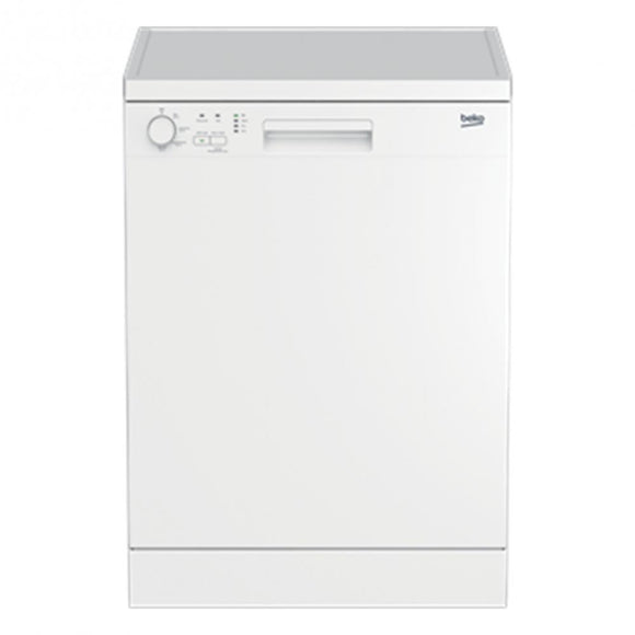 Beko (DFN04210W) Full Size 12 Place Freestanding Dishwasher