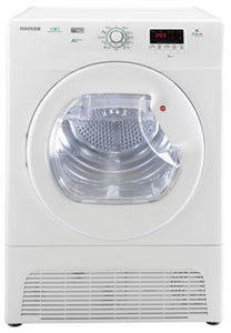 Hoover 9kg Heat Pump Tumble Dryer - White (DYH9913NA1X)