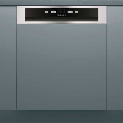 Hotpoint (HBC2B19X) 60cm Semi-Integrated Dishwasher
