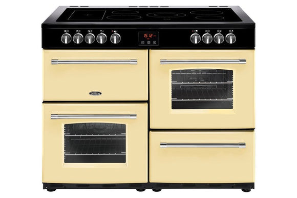 Belling Farmhouse 100cm Electric Range Cooker - Cream | FH100ECR