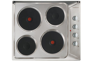 Nordmende (HE62IX) 60cm Solid Plate Electric Hob