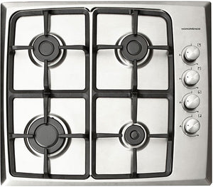 Nordmende (HG603IX) 60cm Gas Hob - Stainless Steel