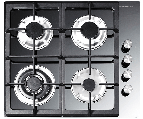 NordMende (HGW603MR) 60cm Gas-on-Glass Hob