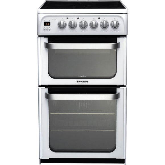 Hotpoint 50cm Electric Ceramic Cooker (HUE52PS)