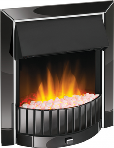 Dimplex Optiflame Delius Black Nickel Inset Fire