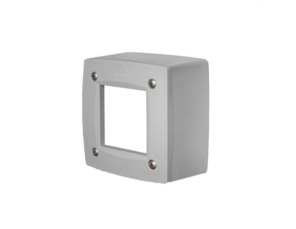 Leti 100 Square Grey LED