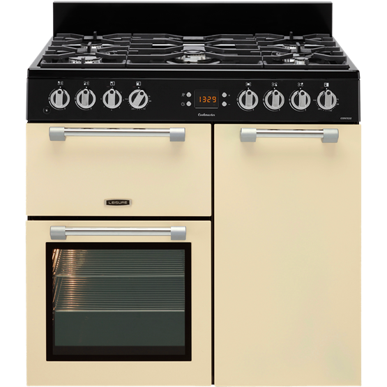 Leisure 90cm Cookmaster Dual Fuel Range Cooker (CK90F232)