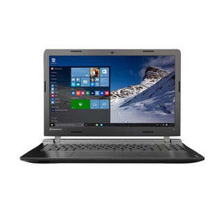 "Lenovo Ideapad 100 Intel Celeron N2840 2.16Ghz 500GB Hard Drive 4GB Ram 15.6"" Widescreen Windows 10 Laptop"
