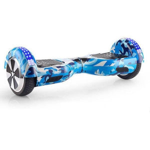 "Blue Camouflage 6.5"" Premium Hoverboard"