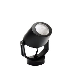 Minitommy Black Frosted LED GU10 4.5W Spotlight