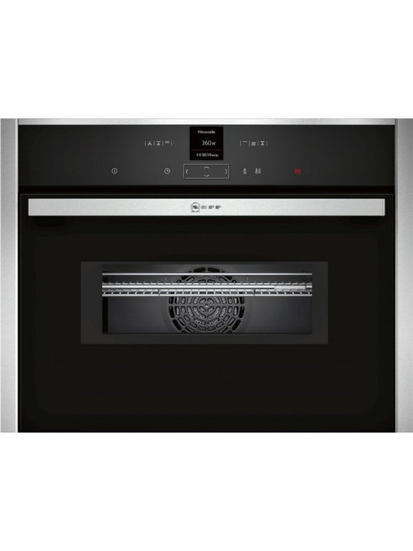 Neff (C17MR02N0B) Compact built-in Oven with Integral Microwave