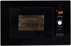 NordMende (NM823BBL) 800w 20 Litre Built-in Microwave - Gloss Black