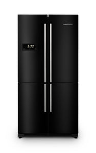RANGEMASTER RSXS REFRIGERATOR | FRIDGE FREEZER | BLACK