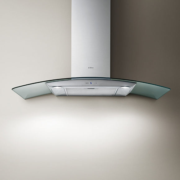 Elica Reef 90cm Wall Mounted Cooker Hood