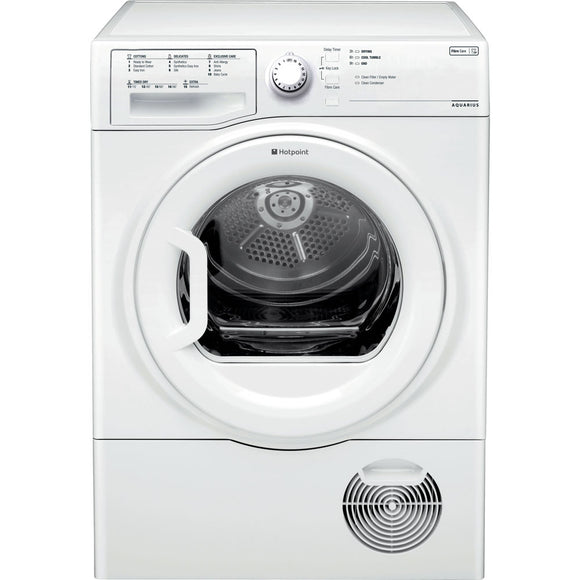 Hotpoint Aquarius 8kg Condenser Tumble Dryer (TCFS83BGP)