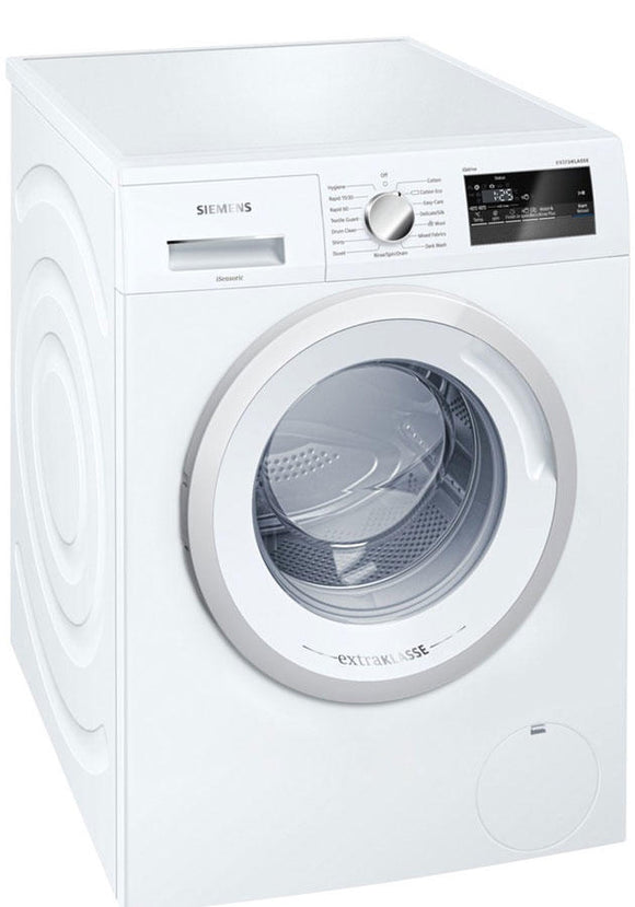 Siemens 7kg 1200 Spin Washing Machine - White (WM12N190GB)