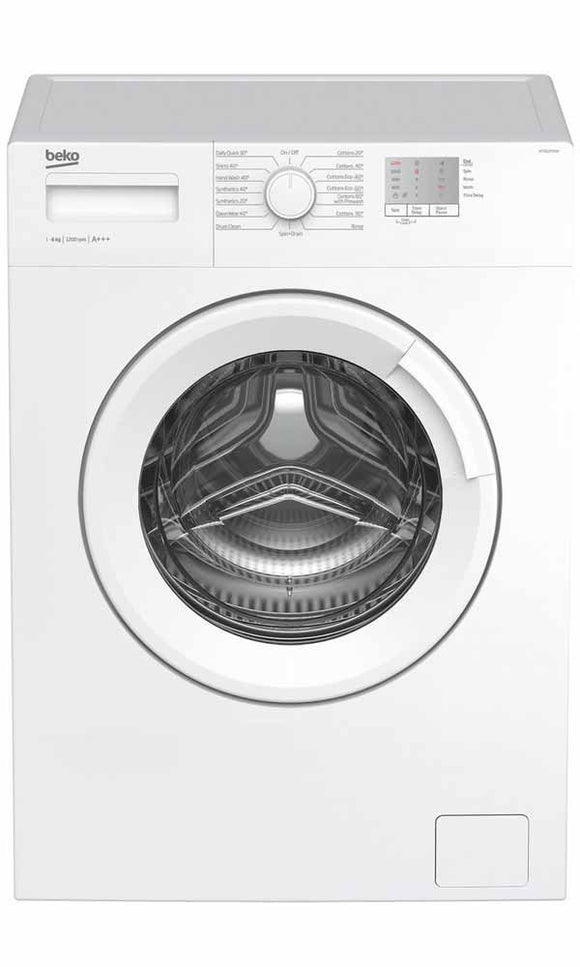 Beko 6kg 1200RPM Washing Machine (WTG620M1W)
